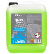 CLINEX 4Dirt FOAM - PIANA DO TŁUSTYCH PLAM - 10L